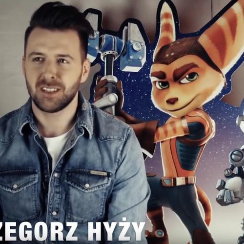 Grzegorz Hyży debiutuje w dubbingu RATCHET I CLANK