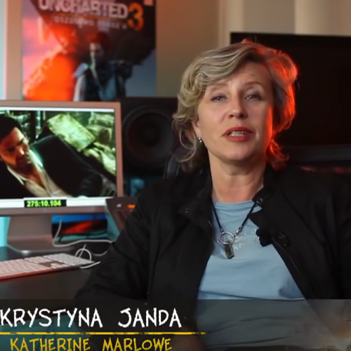 Uncharted 3 Oszustwo Drake'a wywiad z Krystyną Jandą
